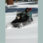 Snowmobiles available for rent in June Lake
