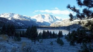 June Lake in Winter